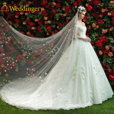How to choose the right wedding dress? There are so many models, which one will fit me? How to measure yourself wedding dress online? https://www.weddingery.com